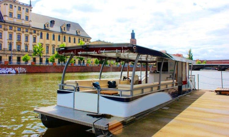 """""""Jazz"""" River Cruise in Wrocław, Poland"""