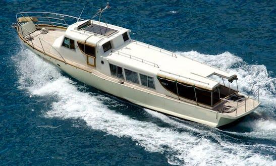 Charter 46' Trawler In Dubrovnik, Croatia