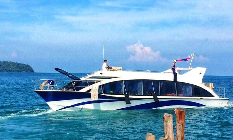 Take a Boat Cruise in Krong Preah Sihanouk, Cambodia for 60 People!