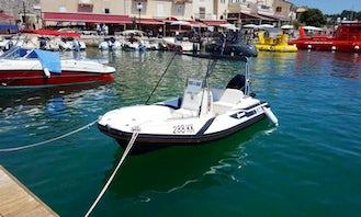 Rent 16' Zar Rigid Inflatable Boat in Krk, Croatia
