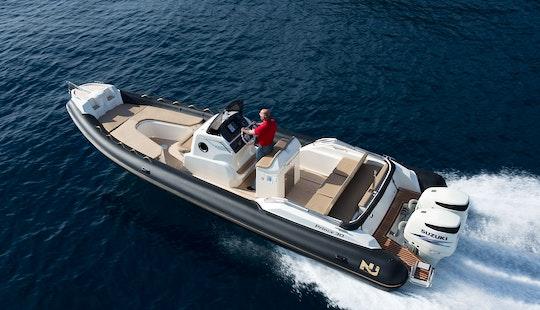 Charter 30' Nuavajolly Rigid Inflatable Boat In Split, Croatia