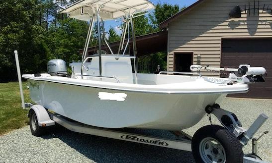Center Console Fishing Boat Rental, Sutton Lake, Sutton Wv