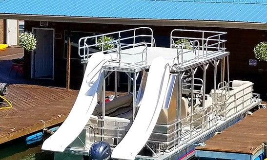 Double Deck / Double Slide Boat At Sutton Lake, Sutton Wv
