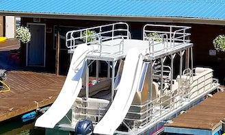 Double Deck / Double Slide Boat at Sutton Lake, West Virigina