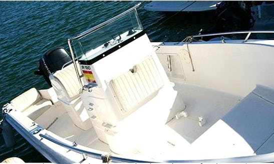 19' Center Console Fishing Boat In Deltebre