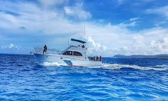 "Trolling Charter Aboard the ""Nombei"" in Garapan Saipan"