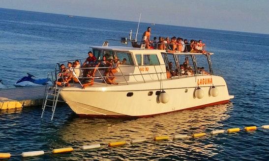 Charter 49' Laguna Cuddy Cabin In Budva, Montenegro