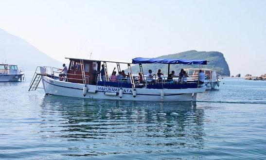 Charter 39' Hakunamatata Trawler In Budva, Montenegro
