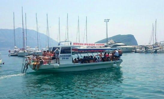Charter Poseidon Cuddy Cabin In Budva, Montenegro