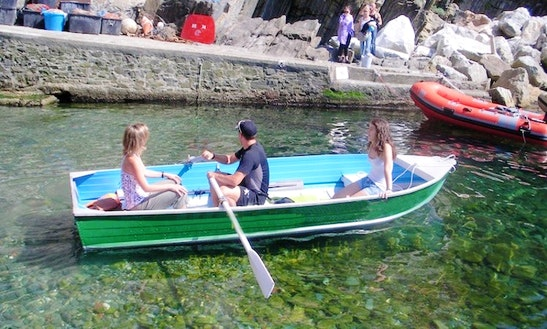 Explore Cinque Terre, Italy On 13ft Small Aluminum Boats