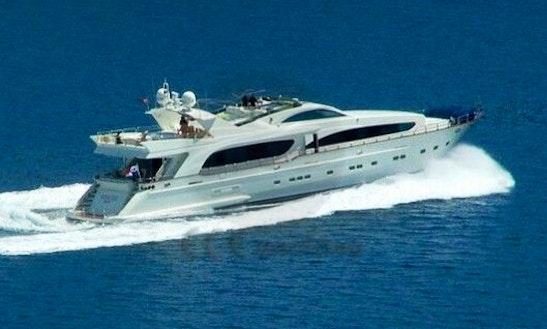 Charter This 110' Tatjana Power Mega Yacht In Antalya, Turkey