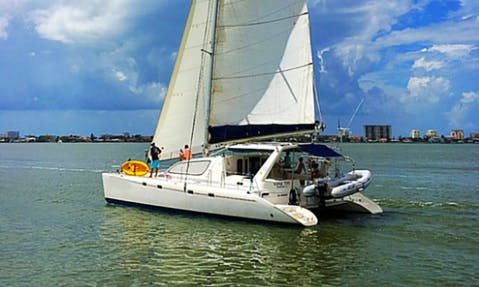 Sailing Charter On 47' Cruising Catamaran In Dunedin, Florida