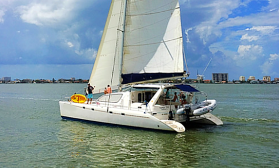 Sailing Charter On 47' Cruising Catamaran In Dunedin, Florida