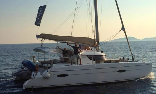 Sailing Charter On 53' Antigua Cruising Monohull In Lipari, Italy