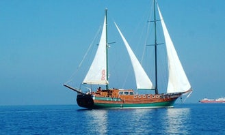 """Luxurious Sailing Charter on the """"Maria Giovanna"""" in Praiano, Italy"""