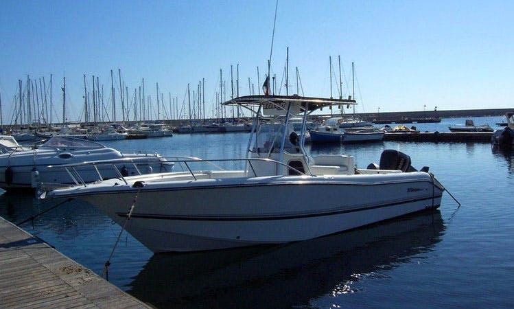 Charter Fishing and Excursions in La Caletta di Siniscola, Sardinia, Italy