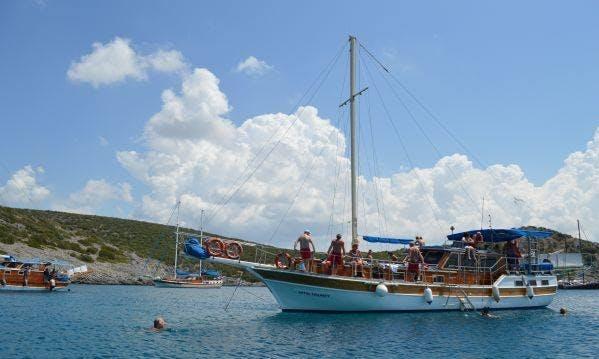 12 people Gulet for charter in Muğla, Turkey