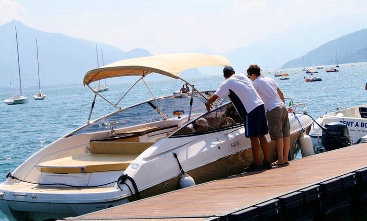 Sessa S26 - 330cv Deck Boat in Italy, Dongo