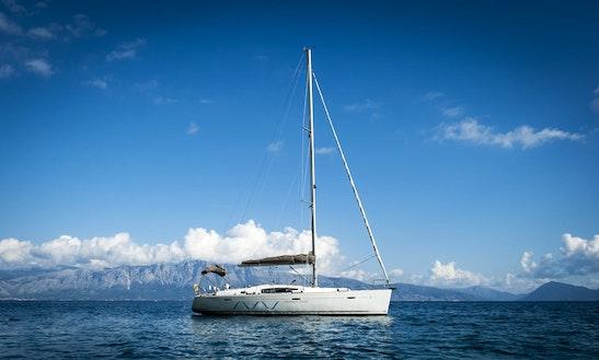 Charter 43' Beneteau Oceanis Cruising Monohull In Lefkada, Greece