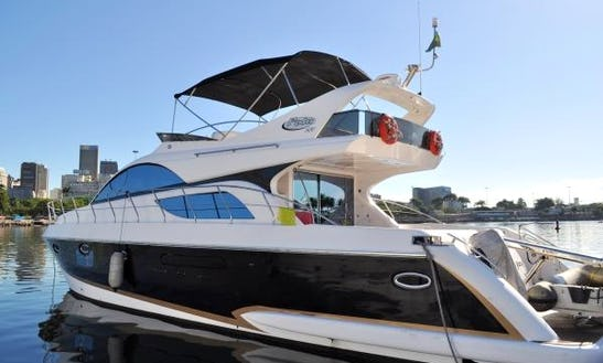 Cruise In Luxury In Rio De Janeiro On A Motor Yacht Charter