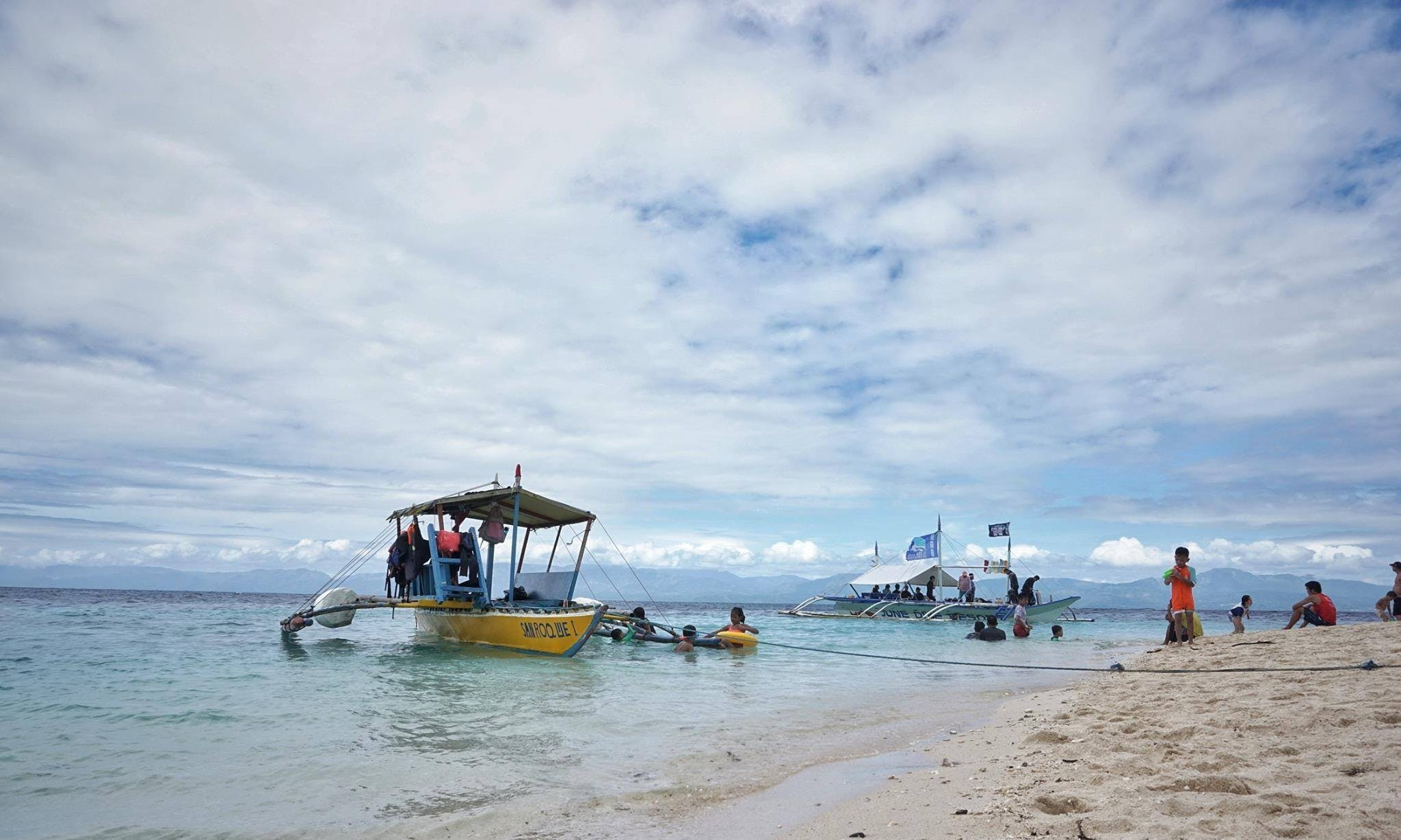 3 Island Sailing Tour On Traditional Paraw Boat
