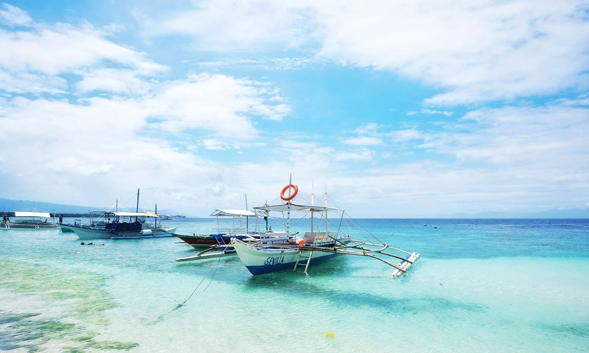 Hope Aboard Traditional Boat in Mandaue City