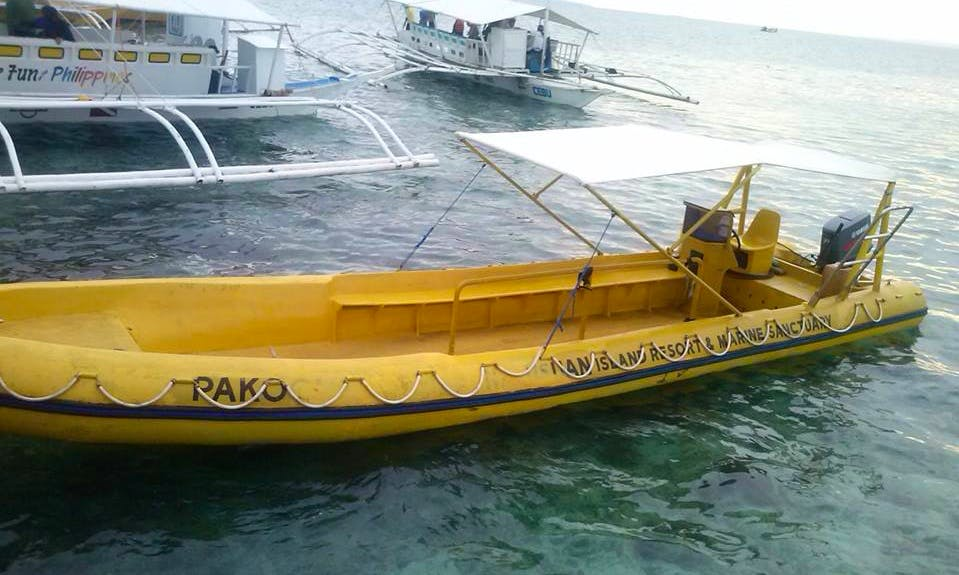 Charter a Rigid Inflatable Boat in Mandaue City, Philippines