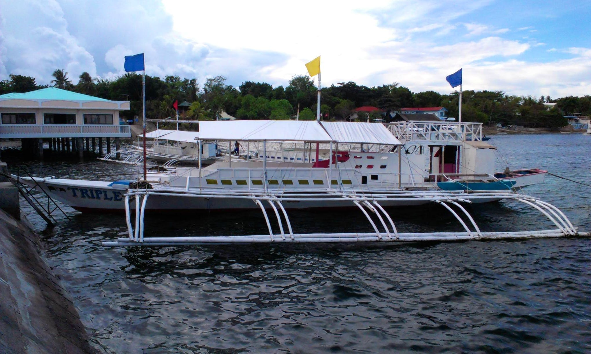 Take a Voyage on a Traditional Pilipino boat!