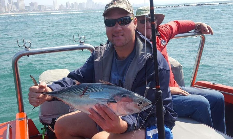 Enjoy Fishing in Durban, South Africa on Dinghy