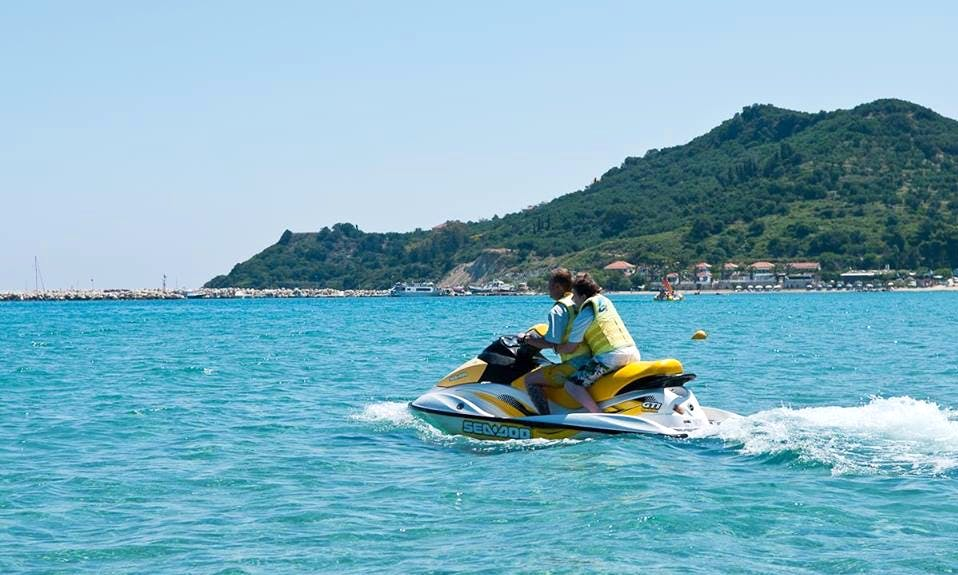 Hit the water with a Jet Ski in Zakinthos, Greece