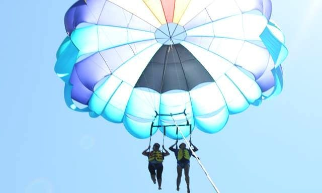 Wonderful Parasailing for 2 people in Zakinthos, Greece
