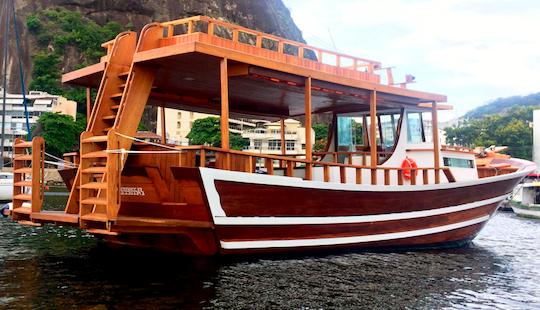 Charter 42' Trawler In Rio De Janeiro, Brazil
