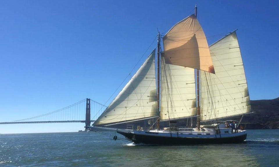 Sailing Charter On 72' Gas Light Schooner In San Francisco, California