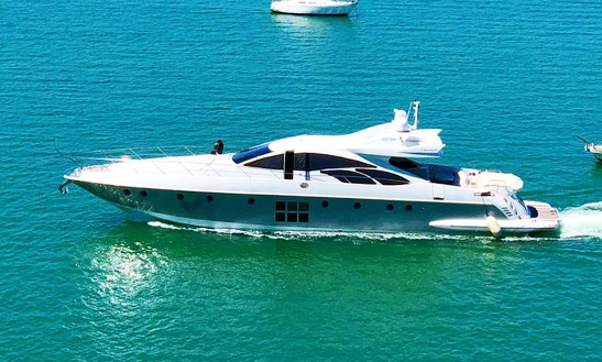 Power Mega Yacht Sleep Aboard Rental In Miami Beach