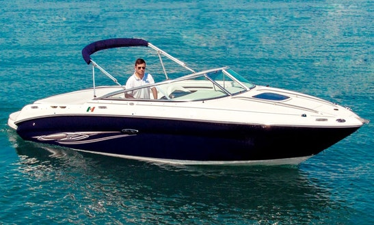 23' Sea Ray 220 Cuddy Cabin Rental In Lombardia, Italy