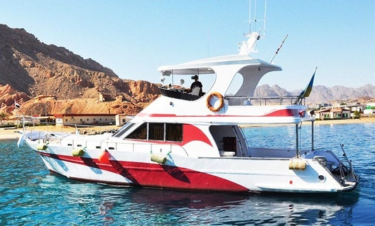 Charter Perla Motor Yacht In South Sinai Governorate, Egypt