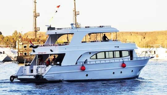 Charter 66' Glory Power Mega Yacht In Sharm El Sheikh, Egypt