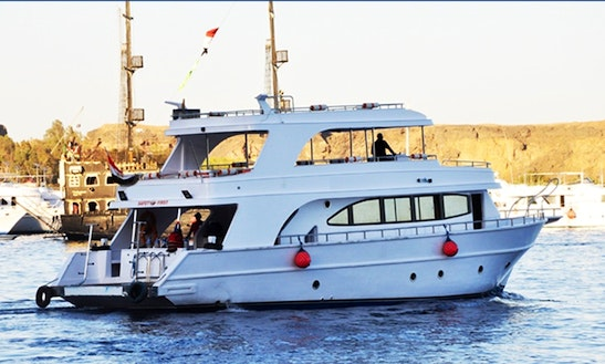 Charter 66' Glory Power Mega Yacht In South Sinai Governorate, Egypt