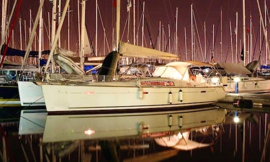 Charter 43' Beneteau Oceanis Cruising Catamaran In Karagozler, Mugla