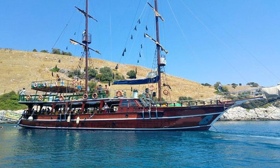 Charter A Beautiful Sailing Gulet For 124 Person In Aydın, Turkey