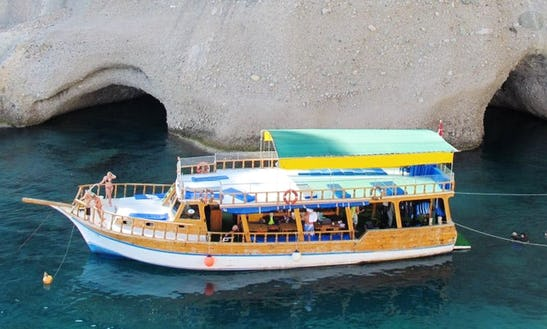 Diving Boat In Turkey