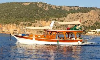 Charter a Motor Yacht in Kas, Turkey