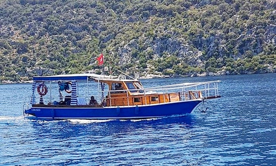 Private Boat Tours In Antalya, Turkey With Captain Galip