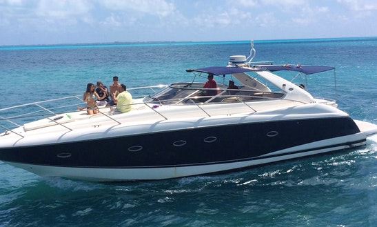 Charter Portofino 48 Motor Yacht In Cancún, Mexico