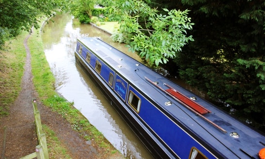 Lucy, Narrowboat Cruise From Nantwich, Cheshire
