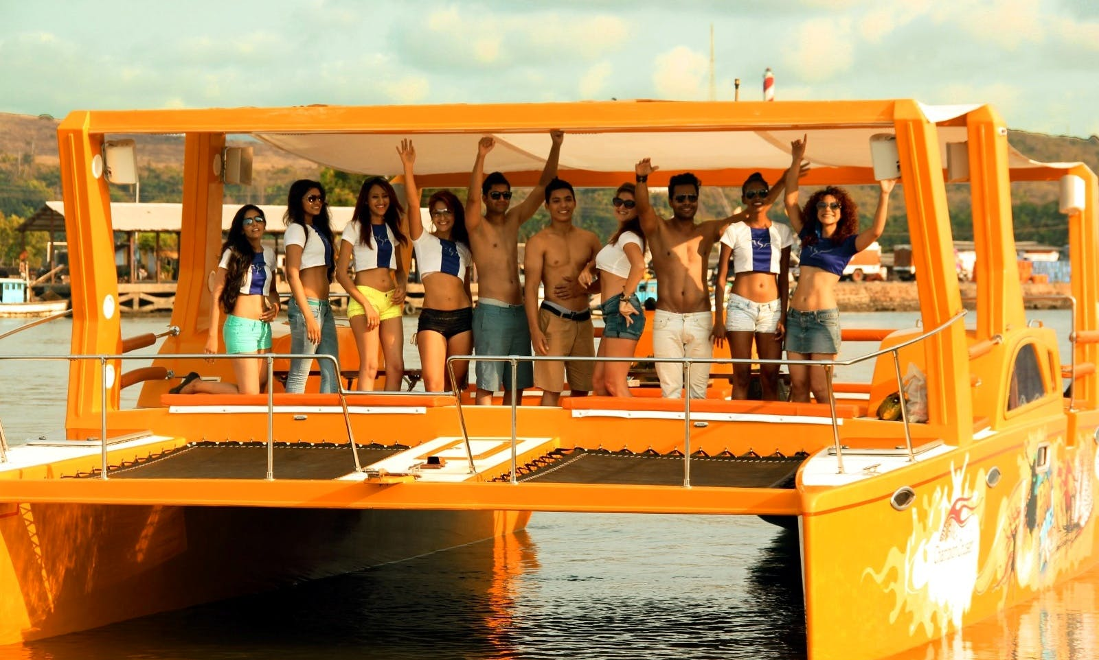 Party Boat Cruises in Goa, India