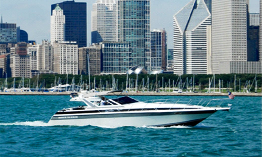 """44 ft """"Floating B&B"""" Motor Yacht Charter in Chicago, Illinois"""