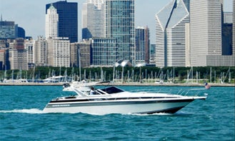44ft Motor Yacht Charter in Chicago, Illinois