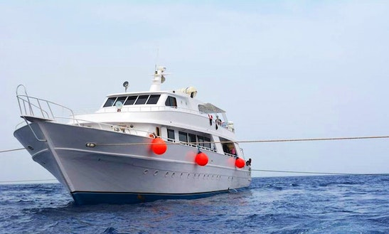 Charter 108' M/y Rosetta Power Mega Yacht In Red Sea Governorate, Egypt