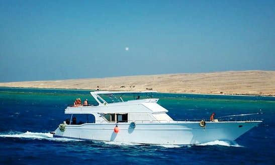 Charter 69' Liza Power Mega Yacht In Red Sea Governorate, Egypt
